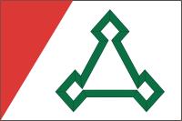 Флаг города Волоколамска Московской области