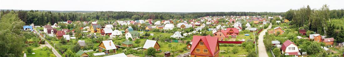 Дома в Волоколамском районе Московской области
