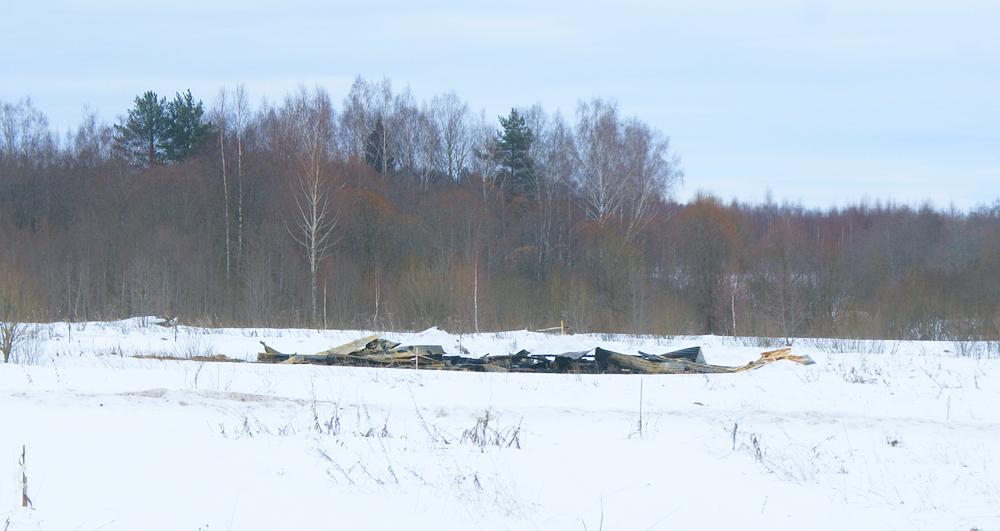 Посёлок после пожара Волоколамский район Московской области