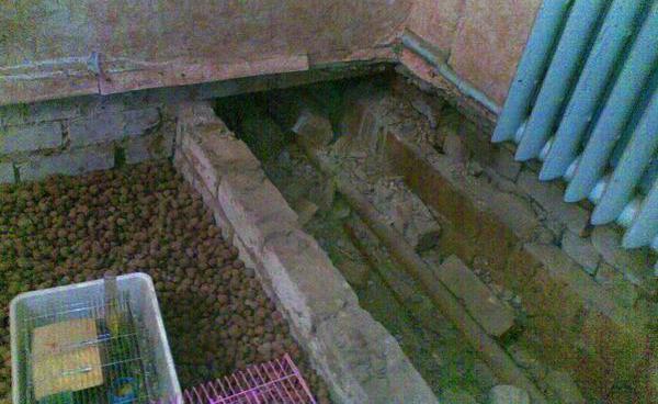 Прокладка труб на первых этажах в хрущёвках