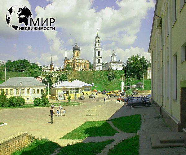 фотография Волоколамского кремля с улицы Сергачева